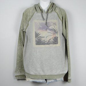 Roxy Hooded Long-Sleeve Sweatshirt sz XL